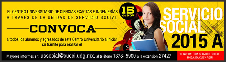 Convocatoria de servicio Social 2015